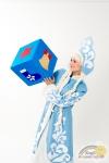 Реквизит для игр Кубик Новогодний
