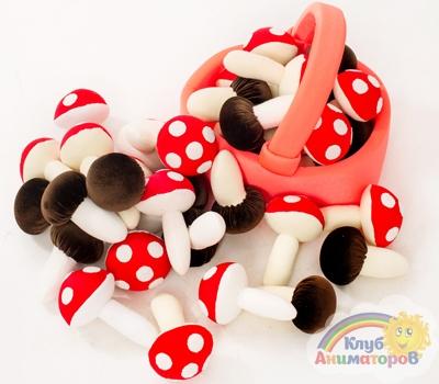 Реквизит для игр Корзина с грибами