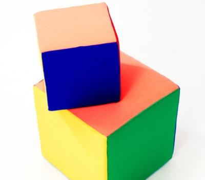Реквизит для игр Поролоновые кубики 30 см