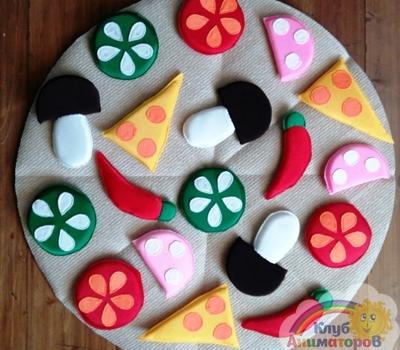 Реквизит для игр Пицца