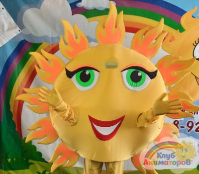 Ростовая кукла Солнце на Масленицу